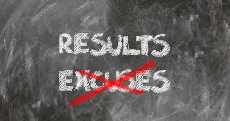 Lucha contra las excusas que hasta ahora sólo han sido tus enemigas